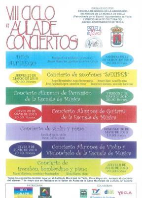 COMIENZA EL VIII CICLO AULA DE CONCIERTOS
